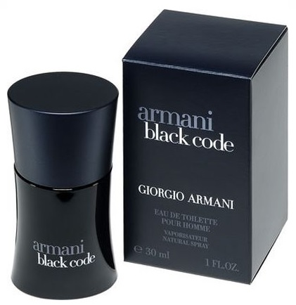 Armani Black Code for Men