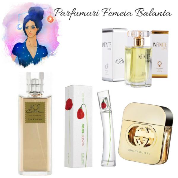 Parfumuri pentru femeia Balanta