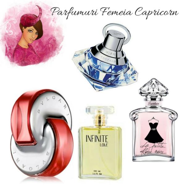 Parfumuri pentru femeia Capricorn