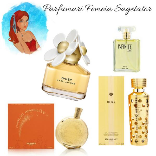 Parfumuri pentru femeia Sagetator