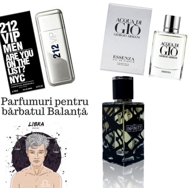 Parfumuri pentru bărbatul Balanță