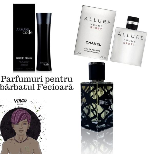 Parfumuri pentru bărbatul Fecioară