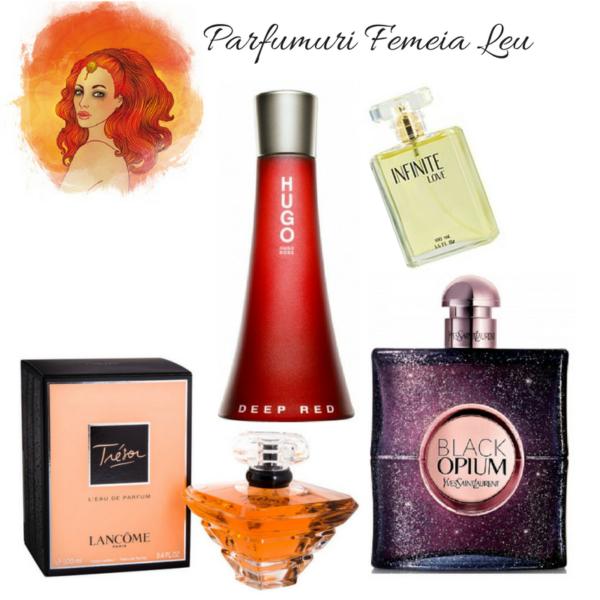 Parfumuri pentru femeia Leu